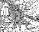 Lehrte Stadtplan 1896 (Quelle: de.wikipedia.org)
