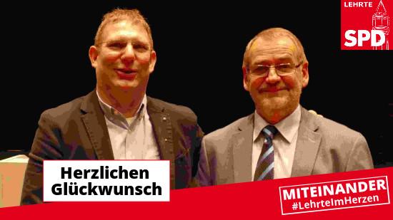 SPD Lehrte Ratsvorsitz und Nachrücker