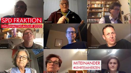 SPD Fraktionsklausur 2020