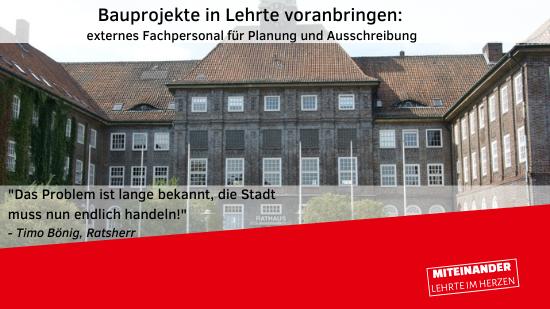 Bauprojekte in Lehrte
