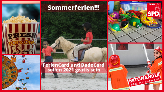 SPD Feriencard 2021