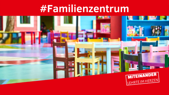 Familienzentrum website