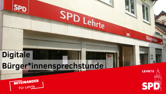 Digitale Bürger*innensprechstunde der SPD Lehrte